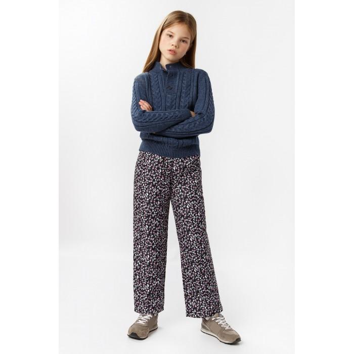 Брюки и джинсы Finn Flare Kids Брюки для девочки KA19-71018 брюки quechua брюки утепленные для мальчиков hike 100