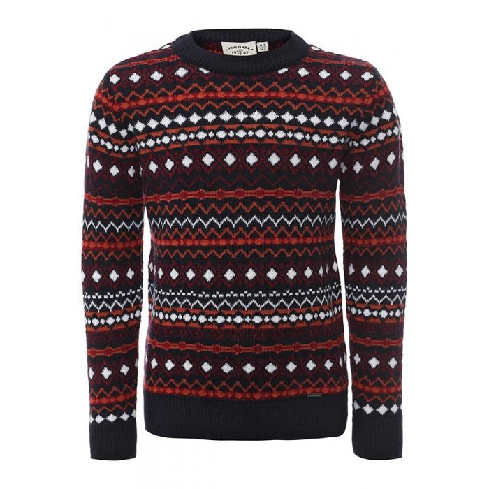 Детская одежда , Джемперы, свитера, пуловеры Finn Flare Kids Джемпер для девочки KA16-71105 арт: 352095 -  Джемперы, свитера, пуловеры