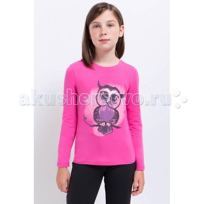 Детская одежда , Водолазки и лонгсливы Finn Flare Kids Джемпер для девочки KA17-71020 арт: 370943 -  Водолазки и лонгсливы