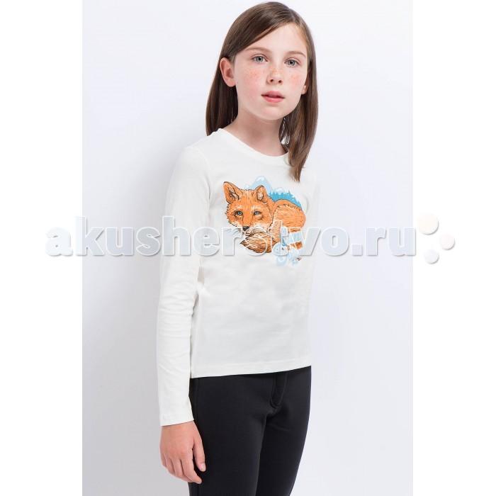 Детская одежда , Водолазки и лонгсливы Finn Flare Kids Джемпер для девочки KA17-71022 арт: 370963 -  Водолазки и лонгсливы