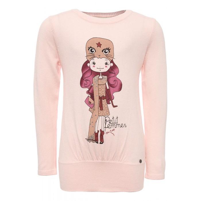 Детская одежда , Джемперы, свитера, пуловеры Finn Flare Kids Джемпер для девочки KW16-71103 арт: 352135 -  Джемперы, свитера, пуловеры