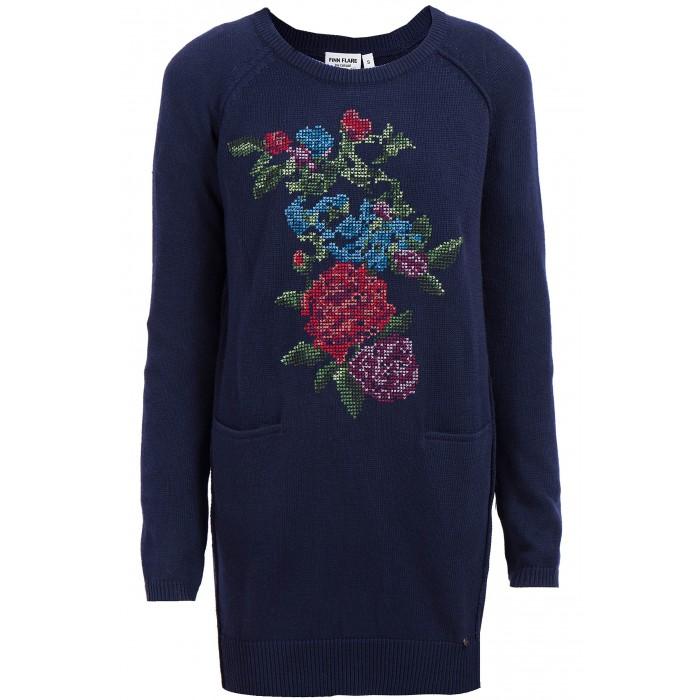 Детская одежда , Джемперы, свитера, пуловеры Finn Flare Kids Джемпер для девочки KW17-71127 арт: 415249 -  Джемперы, свитера, пуловеры