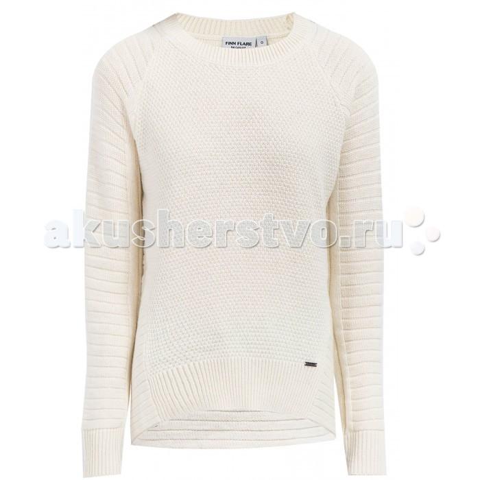 Детская одежда , Джемперы, свитера, пуловеры Finn Flare Kids Джемпер для девочки KW17-71129 арт: 415304 -  Джемперы, свитера, пуловеры