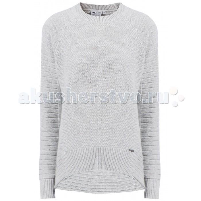 Джемперы, свитера, пуловеры Finn Flare Kids Джемпер для девочки KW17-71129 джемперы cudgi джемпер