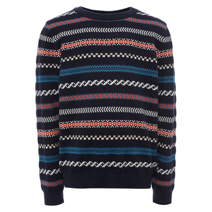 Джемперы, свитера, пуловеры Finn Flare Kids Джемпер для мальчика KW16-81101 джемперы cudgi джемпер