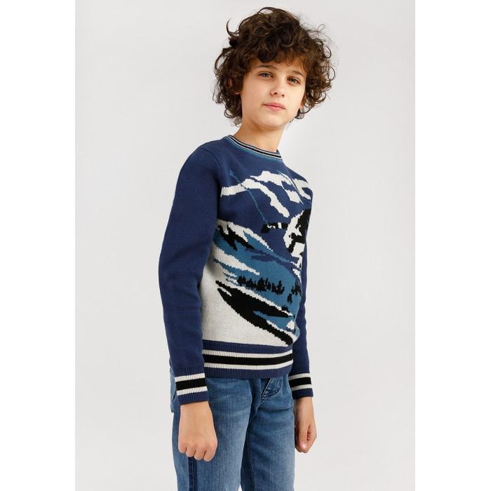 Купить Джемперы и кардиганы, Finn Flare Kids Джемпер для мальчика KW19-81112