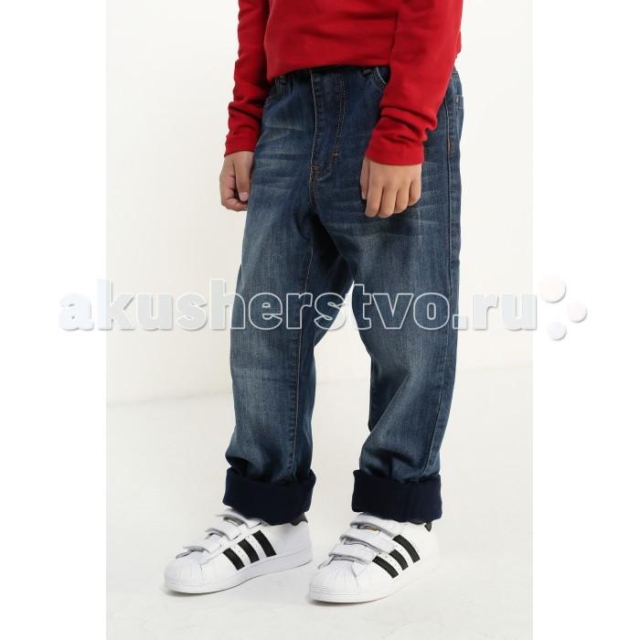 Брюки, джинсы и штанишки Finn Flare Kids Джинсы утепленные для мальчика KW16-85009