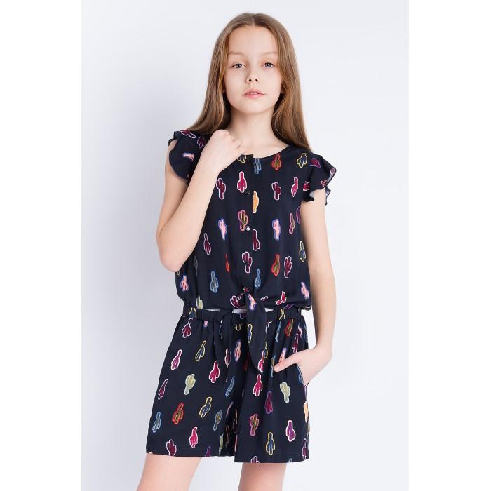 Купить Детские платья и сарафаны, Finn Flare Kids Комбинезон для девочки