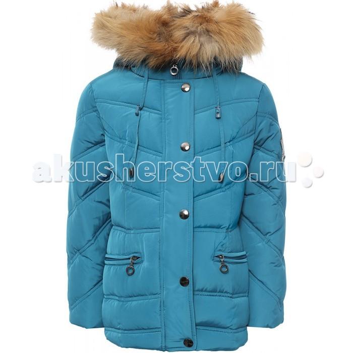 Finn Flare Kids Куртка для девочки KW16-71002Куртка для девочки KW16-71002Finn Flare Kids Куртка для девочки KW16-71002  Стильная яркая куртка выполнена из прочного материала с утеплителем пух/перо, который имеет отличные теплоизоляционные свойства и является идеальным наполнителем для зимней одежды.  Модель приталенного кроя застёгивается на молнию, расположенную по длине куртки, и имеет планку на кнопках. Карманы прорезные на молнии. Капюшон утягивается и отделан натуральным мехом.  Состав:  - Основной материал: 100% полиэстер - Подкладка: 100% полиэстер - Утеплитель: 90/10% пух/перо - Плотность утеплителя, г/м2: 260 - Мех: енот натуральный - Фактура материала: Плащевая ткань  Уход: Машинная стирка в щадящем режиме при максимальной температуре 30°C.  Финский бренд Finn Flare предлагает широкий ассортимент качественной продукции. Модные брендовые вещи являются уникальным предложением для тех, кто предпочитает комфорт и обладает хорошим вкусом. Финская компания уже более полувека создает оригинальные и стильные линейки одежды, обуви и аксессуаров.<br>