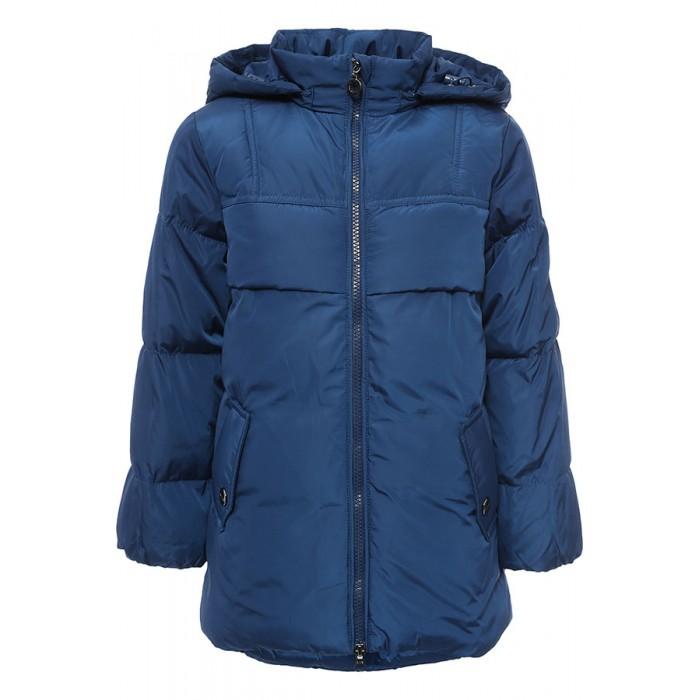 Finn Flare Kids Куртка для девочки KW16-71010Куртки, пальто, пуховики<br>Finn Flare Kids Куртка для девочки KW16-71010  Стильная яркая куртка выполнена из прочного материала с утеплителем полиэстер высокой плотности, который имеет отличные теплоизоляционные свойства и является идеальным наполнителем для зимней одежды.  Модель прямого кроя застёгивается на молнию, расположенную по длине куртки. Карманы прорезные на кнопках.   Состав:  - Основной материал: 100% полиэстер - Подкладка: 100% полиэстер - Утеплитель: 100% полиэстер (Downfill) - Плотность утеплителя, г/м2: 245 - Фактура материала: Плащевая ткань  Уход: Машинная стирка в щадящем режиме при максимальной температуре 30°C.  Финский бренд Finn Flare предлагает широкий ассортимент качественной продукции. Модные брендовые вещи являются уникальным предложением для тех, кто предпочитает комфорт и обладает хорошим вкусом. Финская компания уже более полувека создает оригинальные и стильные линейки одежды, обуви и аксессуаров.