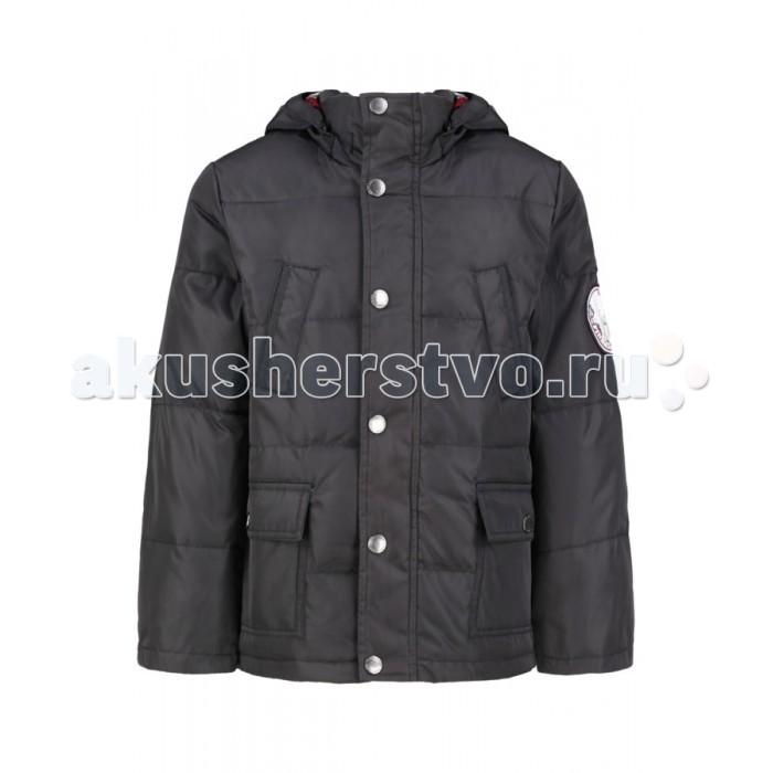 Finn Flare Kids Куртка для мальчика KA15-81015Куртка для мальчика KA15-81015Finn Flare Kids Куртка для мальчика KA15-81015  Стильная и комфортная куртка для мальчика выполнена из прочного материала с утеплителем пух/перо, который имеет отличные теплоизоляционные свойства и является идеальным наполнителем для зимней одежды.  Модель прямого кроя застёгивается на молнию, расположенную по длине куртки, и имеет планку на кнопках. Карманы накладные на кнопках.   Состав:  - Основной материал: 100% полиэстер - Подкладка: 100% полиэстер; 65% полиэстер, 35% хлопок - Утеплитель: 60/40% пух/перо - Плотность утеплителя, г/м2: 220 - Фактура материала: Плащевая ткань  Уход: Машинная стирка в щадящем режиме при максимальной температуре 30°C.  Финский бренд Finn Flare предлагает широкий ассортимент качественной продукции. Модные брендовые вещи являются уникальным предложением для тех, кто предпочитает комфорт и обладает хорошим вкусом. Финская компания уже более полувека создает оригинальные и стильные линейки одежды, обуви и аксессуаров.<br>
