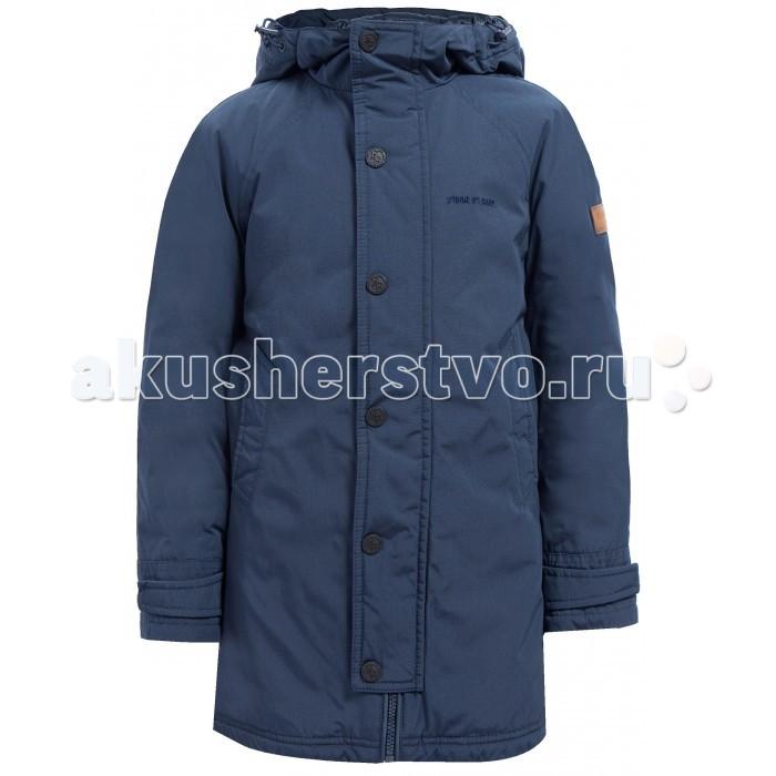 Finn Flare Kids Куртка для мальчика KA17-81001Куртка для мальчика KA17-81001Finn Flare Kids Куртка для мальчика KA17-81001  Классическая тёплая куртка прямого кроя станет отличный демисезонным вариантом верхней одежды. Модель застёгивается на молнию и пуговицы-кнопки, имеется капюшон на утяжках. По бокам расположены карманы. Подкладка и утеплитель выполнены из полиэстера, известного своими влагоотводящими свойствами.  Состав:  - Основной материал: 60% полиэстер, 40% хлопок - Подкладка: 50% вискоза, 50% полиэстер - Утеплитель: 100% полиэстер - Плотность утеплителя, г/м2: 80   Уход: Машинная стирка в щадящем режиме при максимальной температуре 30°C.  Финский бренд Finn Flare предлагает широкий ассортимент качественной продукции. Модные брендовые вещи являются уникальным предложением для тех, кто предпочитает комфорт и обладает хорошим вкусом. Финская компания уже более полувека создает оригинальные и стильные линейки одежды, обуви и аксессуаров.<br>