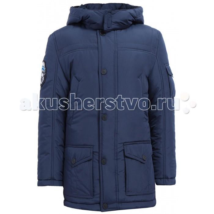 Finn Flare Kids Куртка для мальчика KA17-81005Куртка для мальчика KA17-81005Finn Flare Kids Куртка для мальчика KA17-81005  Классическая тёплая куртка прямого кроя станет отличный демисезонным вариантом верхней одежды. Модель застёгивается на молнию и пуговицы-кнопки, имеется капюшон на утяжках. По бокам расположены карманы. Подкладка и утеплитель выполнены из полиэстера, известного своими влагоотводящими свойствами.  Состав:  - Основной материал: 100% полиэстер - Подкладка: 50% вискоза, 50% полиэстер - Утеплитель: 100% полиэстер - Плотность утеплителя, г/м2: 260   Уход: Машинная стирка в щадящем режиме при максимальной температуре 30°C.  Финский бренд Finn Flare предлагает широкий ассортимент качественной продукции. Модные брендовые вещи являются уникальным предложением для тех, кто предпочитает комфорт и обладает хорошим вкусом. Финская компания уже более полувека создает оригинальные и стильные линейки одежды, обуви и аксессуаров.<br>
