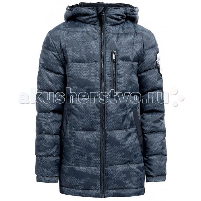 Finn Flare Kids Куртка для мальчика KA17-81008Куртка для мальчика KA17-81008Finn Flare Kids Куртка для мальчика KA17-81008  Классическая тёплая куртка прямого кроя станет отличный демисезонным вариантом верхней одежды. Модель застёгивается на молнию и пуговицы-кнопки, имеется капюшон на утяжках. По бокам расположены карманы. Подкладка выполнена из полиэстера, известного своими влагоотводящими свойствами.   Состав:  - Основной материал: 100% полиэстер - Подкладка: 50% вискоза, 50% полиэстер - Утеплитель: 80/20%  пух/перо - Плотность утеплителя, г/м2: 230   Уход: Машинная стирка в щадящем режиме при максимальной температуре 30°C.  Финский бренд Finn Flare предлагает широкий ассортимент качественной продукции. Модные брендовые вещи являются уникальным предложением для тех, кто предпочитает комфорт и обладает хорошим вкусом. Финская компания уже более полувека создает оригинальные и стильные линейки одежды, обуви и аксессуаров.<br>
