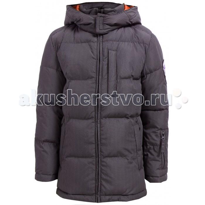 Finn Flare Kids Куртка для мальчика KA17-81009Куртка для мальчика KA17-81009Finn Flare Kids Куртка для мальчика KA17-81009  Классическая тёплая куртка прямого кроя станет отличный демисезонным вариантом верхней одежды. Модель застёгивается на молнию и пуговицы-кнопки, имеется капюшон на утяжках. По бокам расположены карманы. Подкладка выполнена из полиэстера, известного своими влагоотводящими свойствами.   Состав:  - Основной материал: 100% полиэстер - Подкладка: 50% вискоза, 50% полиэстер - Утеплитель: 100% полиэстер - Плотность утеплителя, г/м2: 300   Уход: Машинная стирка в щадящем режиме при максимальной температуре 30°C.  Финский бренд Finn Flare предлагает широкий ассортимент качественной продукции. Модные брендовые вещи являются уникальным предложением для тех, кто предпочитает комфорт и обладает хорошим вкусом. Финская компания уже более полувека создает оригинальные и стильные линейки одежды, обуви и аксессуаров.<br>