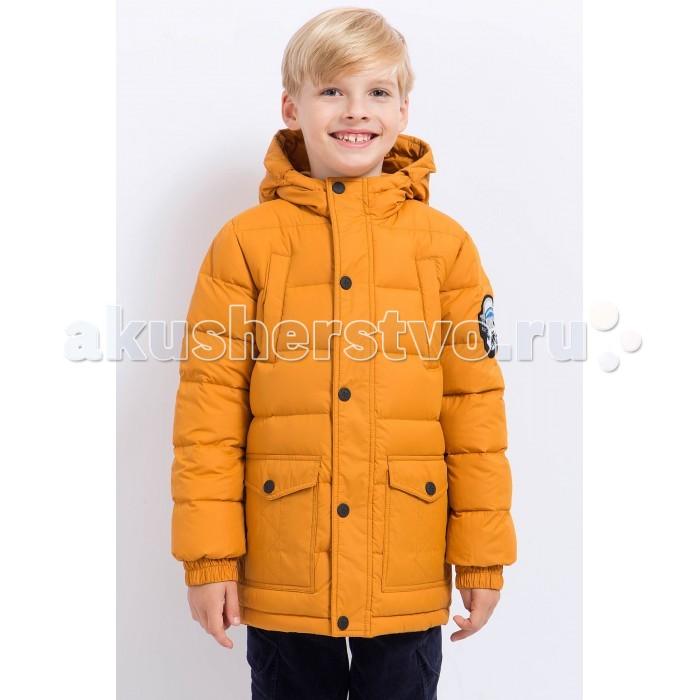 Finn Flare Kids Куртка для мальчика KA17-81010Куртка для мальчика KA17-81010Finn Flare Kids Куртка для мальчика KA17-81010  Стильная и комфортная куртка для мальчика выполнена из прочного материала с утеплителем пух высокой плотности, который имеет отличные теплоизоляционные свойства и является идеальным наполнителем для зимней одежды.  Модель прямого кроя застёгивается на молнию, расположенную по длине куртки. Карманы накладные на кнопке и прорезные на молнии.   Состав:  - Основной материал: 100% полиэстер - Подкладка: 100% полиэстер - Утеплитель: 100% пух - Плотность утеплителя, г/м2: 230 - Фактура материала: Плащевая ткань  Уход: Машинная стирка в щадящем режиме при максимальной температуре 30°C.  Финский бренд Finn Flare предлагает широкий ассортимент качественной продукции. Модные брендовые вещи являются уникальным предложением для тех, кто предпочитает комфорт и обладает хорошим вкусом. Финская компания уже более полувека создает оригинальные и стильные линейки одежды, обуви и аксессуаров.<br>