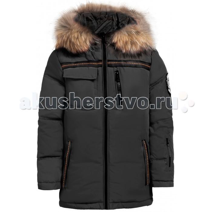 Finn Flare Kids Куртка для мальчика KW17-81001Куртка для мальчика KW17-81001Finn Flare Kids Куртка для мальчика KW17-81001  Стильная и комфортная куртка для мальчика выполнена из прочного материала с утеплителем пух/перо, который имеет отличные теплоизоляционные свойства и является идеальным наполнителем для зимней одежды.  Модель прямого кроя застёгивается на молнию, расположенную по длине куртки. Карманы прорезные на молнии. Капюшон отделан натуральным мехом.  Состав: - Основной материал: 100% полиэстер - Подкладка: 50% вискоза, 50% полиэстер - Утеплитель: 80/20% пух/перо - Мех: енот натуральный - Фактура материала: Плащевая ткань  Уход: Машинная стирка в щадящем режиме при максимальной температуре 30°C.  Финский бренд Finn Flare предлагает широкий ассортимент качественной продукции. Модные брендовые вещи являются уникальным предложением для тех, кто предпочитает комфорт и обладает хорошим вкусом. Финская компания уже более полувека создает оригинальные и стильные линейки одежды, обуви и аксессуаров.<br>