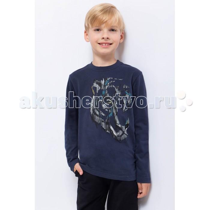 Детская одежда , Водолазки и лонгсливы Finn Flare Kids Лонгслив для мальчика KA17-81021 арт: 371738 -  Водолазки и лонгсливы