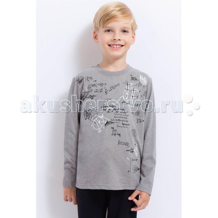Детская одежда , Водолазки и лонгсливы Finn Flare Kids Лонгслив для мальчика KA17-81022 арт: 371758 -  Водолазки и лонгсливы