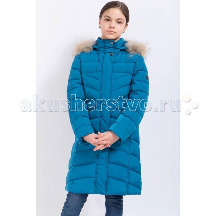 Finn Flare Kids Пальто для девочки KA17-71010Пальто для девочки KA17-71010Finn Flare Kids Пальто для девочки KA17-71010  Стильное яркое пальто выполнено из прочного материала с утеплителем пух/перо высокой плотности, который имеет отличные теплоизоляционные свойства и является идеальным наполнителем для зимней одежды.  Модель прямого кроя застёгивается на молнию, расположенную по длине пальто, воротник с натуральным мехом. Карманы в шве на молнии.   Состав:  - Основной материал: 100% полиэстер - Подкладка: 50% вискоза, 50% полиэстер - Утеплитель: пух/перо - Мех: енот натуральный - Плотность утеплителя, г/м2: 280 - Фактура материала: Плащевая ткань  Уход: Машинная стирка в щадящем режиме при максимальной температуре 30°C.  Финский бренд Finn Flare предлагает широкий ассортимент качественной продукции. Модные брендовые вещи являются уникальным предложением для тех, кто предпочитает комфорт и обладает хорошим вкусом. Финская компания уже более полувека создает оригинальные и стильные линейки одежды, обуви и аксессуаров.<br>
