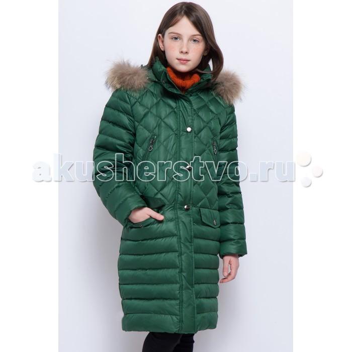 Купить Куртки, пальто, пуховики, Finn Flare Kids Пальто для девочки KW17-71015