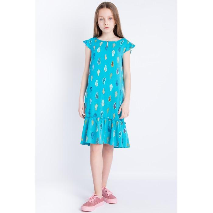 Детские платья и сарафаны Finn Flare Kids Платье для девочки KS18-71002, Детские платья и сарафаны - артикул:514181