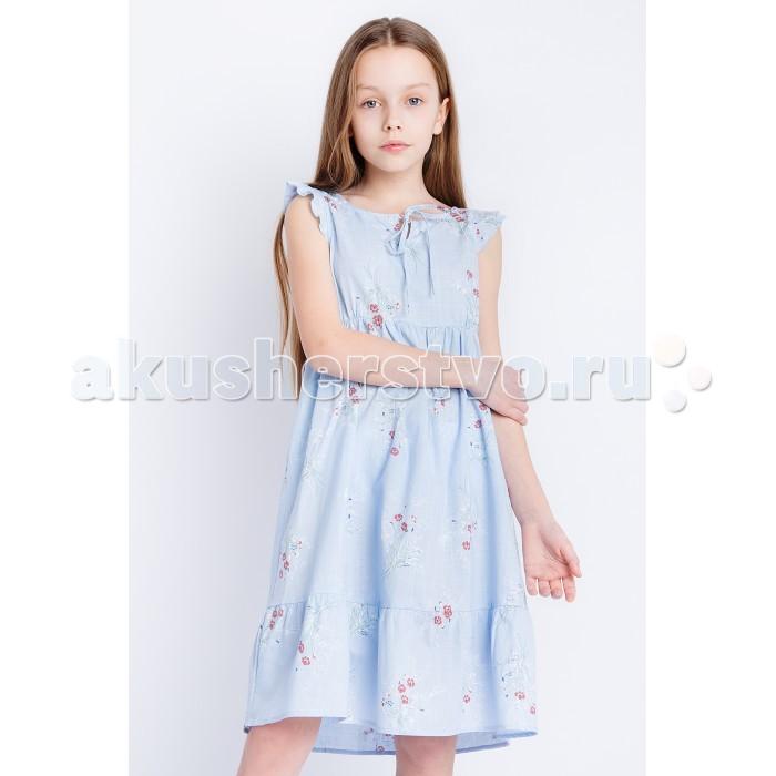 Детские платья и сарафаны Finn Flare Kids Платье для девочки KS18-71009, Детские платья и сарафаны - артикул:514191