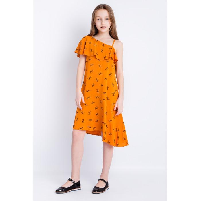 Детские платья и сарафаны Finn Flare Kids Платье для девочки KS18-71010, Детские платья и сарафаны - артикул:514206