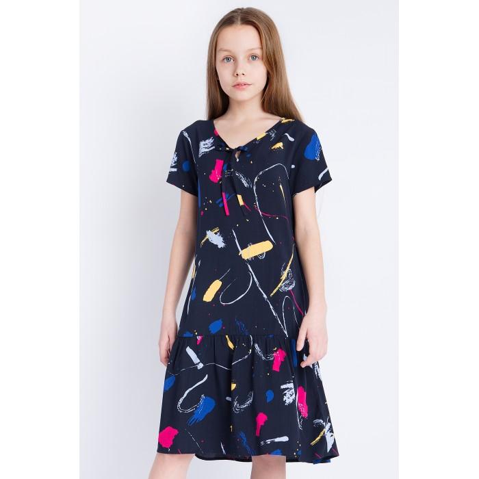 Детские платья и сарафаны Finn Flare Kids Платье для девочки KS18-71014, Детские платья и сарафаны - артикул:514221