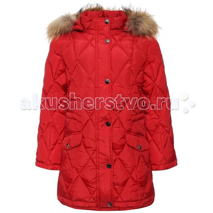Finn Flare Kids Полупальто для девочки KA16-71034Полупальто для девочки KA16-71034Finn Flare Kids Полупальто для девочки KA16-71034  Стильное яркое полупальто выполнено из прочного материала с утеплителем пух/перо, который имеет отличные теплоизоляционные свойства и является идеальным наполнителем для зимней одежды.  Модель застёгивается на молнию, расположенную по длине куртки. Дополнена карманами с клапанами. Капюшон с натуральным мехом.  Состав:  - Основной материал: 100% полиэстер - Подкладка: 100% полиэстер - Утеплитель: 90/10% пух/перо - Мех: енот натуральный - Плотность утеплителя, г/м2: 250  Уход: Машинная стирка в щадящем режиме при максимальной температуре 30°C.  Финский бренд Finn Flare предлагает широкий ассортимент качественной продукции. Модные брендовые вещи являются уникальным предложением для тех, кто предпочитает комфорт и обладает хорошим вкусом. Финская компания уже более полувека создает оригинальные и стильные линейки одежды, обуви и аксессуаров.<br>