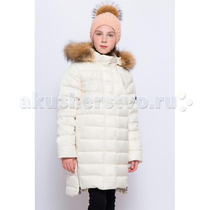 Finn Flare Kids Полупальто для девочки KW17-71003Полупальто для девочки KW17-71003Finn Flare Kids Полупальто для девочки KW17-71003 стильное яркое полупальто выполнено из прочного материала с утеплителем пух/перо высокой плотности, который имеет отличные теплоизоляционные свойства и является идеальным наполнителем для зимней одежды.  Стеганое полупальто для девочки с карманами, удлиненное сзади, декоративные молнии по бокам, капюшон и меховая опушка отстегиваются  Состав:  Основной материал: 55% нейлон, 45% полиэстер Подкладка: 50% вискоза, 50% полиэстер Утеплитель: 90/10 пух/перо Фактура материала: Плащевая ткань  Уход: Машинная стирка в щадящем режиме при максимальной температуре 30°C.  Финский бренд Finn Flare предлагает широкий ассортимент качественной продукции. Модные брендовые вещи являются уникальным предложением для тех, кто предпочитает комфорт и обладает хорошим вкусом. Финская компания уже более полувека создает оригинальные и стильные линейки одежды, обуви и аксессуаров.<br>
