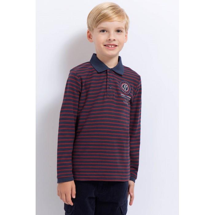 Детская одежда , Блузки и рубашки Finn Flare Kids Рубашка-поло для мальчика KA17-81029 арт: 371953 -  Блузки и рубашки