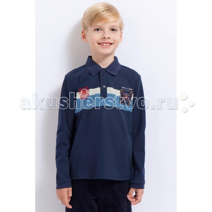 Детская одежда , Блузки и рубашки Finn Flare Kids Рубашка-поло для мальчика KA17-81030 арт: 371963 -  Блузки и рубашки