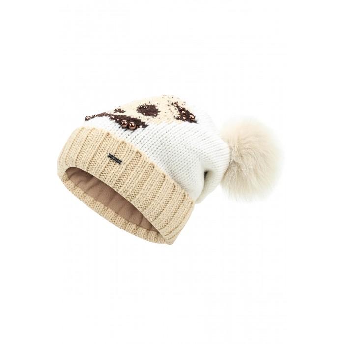 Finn Flare Kids Шапка для девочки KA17-71123Шапка для девочки KA17-71123Finn Flare Kids Шапка для девочки KA17-71123  Стильная детская шапка Finn Flare дополнит наряд ребенка и не позволит замерзнуть в холодное время года. Шапка выполнена из высококачественной пряжи, что позволяет ей великолепно сохранять тепло и обеспечивает высокую эластичность и удобство посадки. Такая шапка станет модным и стильным дополнением детского гардероба.   Состав:  - Основной материал: 60% шерсть, 40% акрил - Подкладка: 100% полиэстер - Мех: 100% песец  Уход: Машинная стирка в щадящем режиме при максимальной температуре 30°C.  Финский бренд Finn Flare предлагает широкий ассортимент качественной продукции. Модные брендовые вещи являются уникальным предложением для тех, кто предпочитает комфорт и обладает хорошим вкусом. Финская компания уже более полувека создает оригинальные и стильные линейки одежды, обуви и аксессуаров.<br>