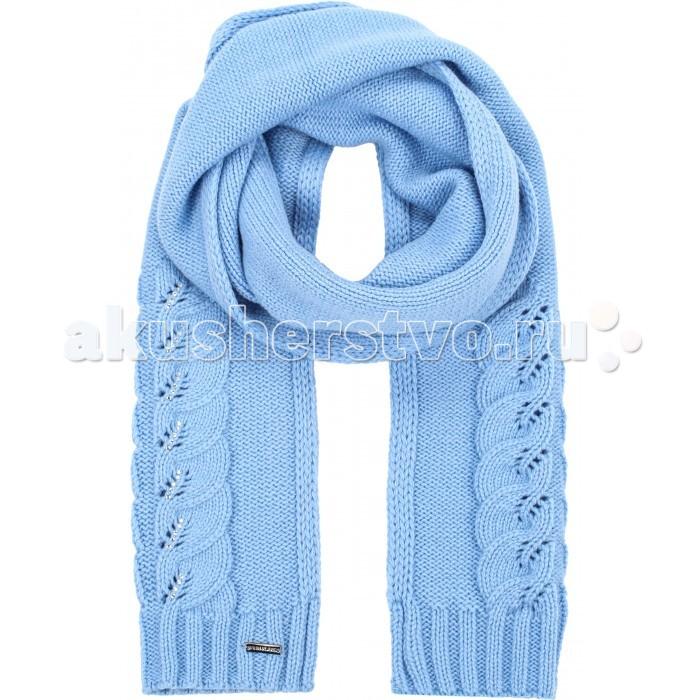 Детская одежда , Варежки, перчатки и шарфы Finn Flare Kids Шарф для девочки KA16-71123 арт: 351360 -  Варежки, перчатки и шарфы