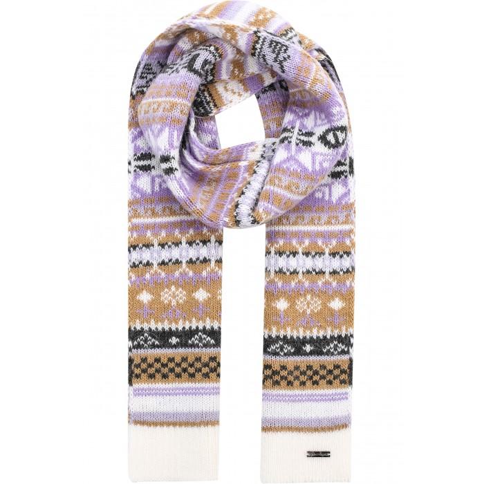 Детская одежда , Варежки, перчатки и шарфы Finn Flare Kids Шарф для девочки KA16-71124 арт: 351365 -  Варежки, перчатки и шарфы