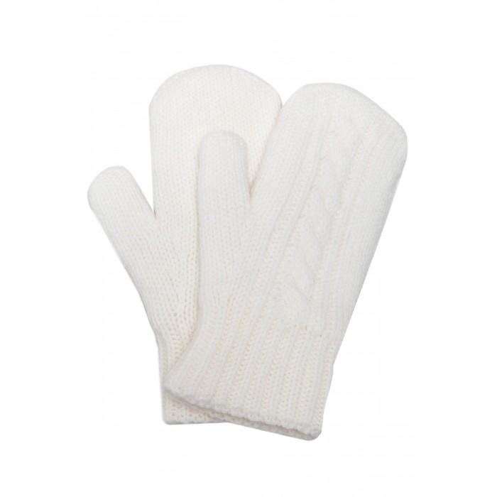 Варежки, перчатки и шарфы Finn Flare Kids Вязаные варежки для девочки KW17-71106 варежки  перчатки и шарфы jollein шарф confetti knit