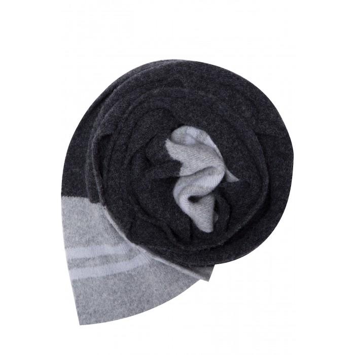 Детская одежда , Варежки, перчатки и шарфы Finn Flare Kids Вязаный шарф для мальчика KW17-81120 арт: 439719 -  Варежки, перчатки и шарфы