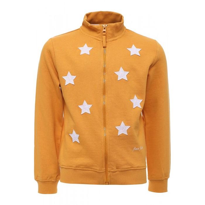 Детская одежда , Пиджаки, жакеты, жилетки Finn Flare Kids Жакет для девочки KA16-71013 арт: 352070 -  Пиджаки, жакеты, жилетки