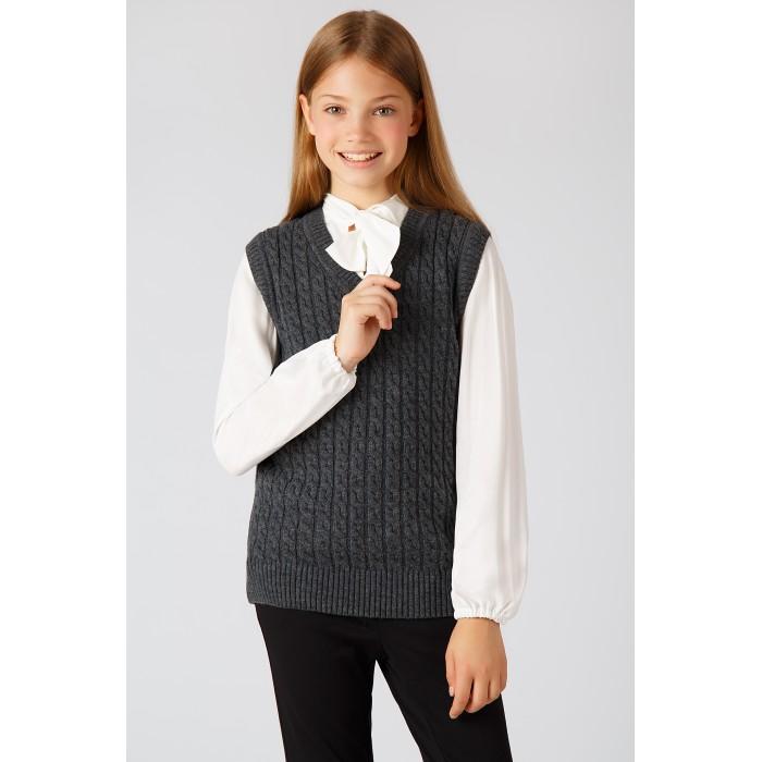 Купить Школьная форма, Finn Flare Kids Жилет для девочки KA18-76100