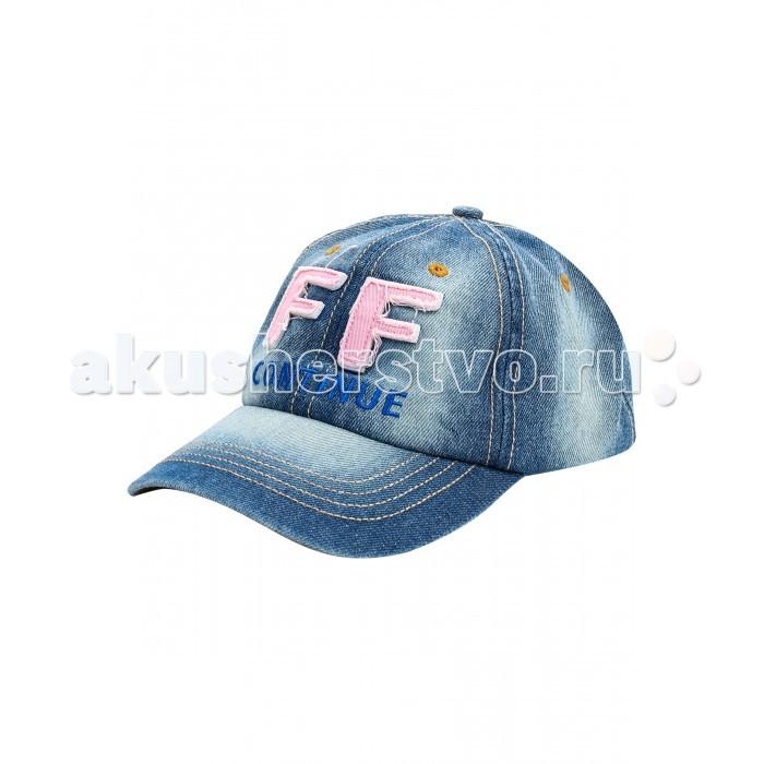 Шапочки и чепчики Finn Flare Kids Бейсболка для девочки KS17-71401