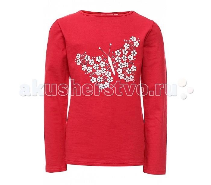 Детская одежда , Водолазки и лонгсливы Finn Flare Kids Джемпер для девочки KB17-71022 арт: 303276 -  Водолазки и лонгсливы