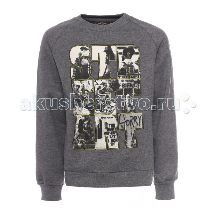 Детская одежда , Джемперы, свитера, пуловеры Finn Flare Kids Джемпер для мальчика KB17-81021 арт: 312519 -  Джемперы, свитера, пуловеры