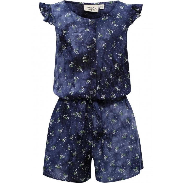 Детские платья и сарафаны Finn Flare Kids Комбинезон для девочки KS17-71021 детские платья и сарафаны finn flare kids платье ks17 71011