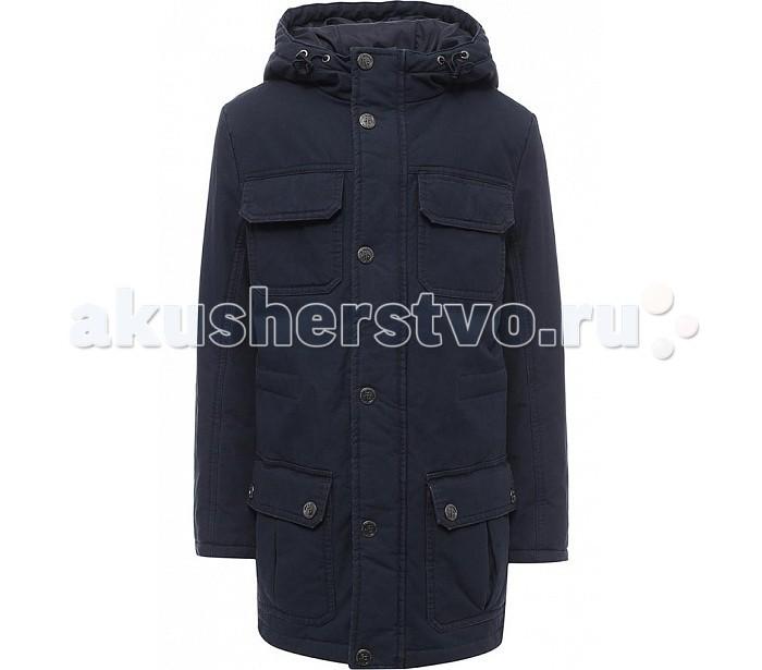 Finn Flare Kids Куртка для мальчика KB17-81005Куртка для мальчика KB17-81005Finn Flare Kids Куртка для мальчика KB17-81005  Классическая тёплая куртка прямого кроя станет отличный демисезонным вариантом верхней одежды. Модель застёгивается на молнию и пуговицы-кнопки, имеется капюшон на утяжках. По бокам расположены карманы. Подкладка и утеплитель выполнены из полиэстера, известного своими влагоотводящими свойствами.  Состав:  - Основной материал: 100% хлопок - Подкладка: 100% полиэстер - Утеплитель: 100% полиэстер  Уход: Машинная стирка в щадящем режиме при максимальной температуре 30°C.  Финский бренд Finn Flare предлагает широкий ассортимент качественной продукции. Модные брендовые вещи являются уникальным предложением для тех, кто предпочитает комфорт и обладает хорошим вкусом. Финская компания уже более полувека создает оригинальные и стильные линейки одежды, обуви и аксессуаров.<br>