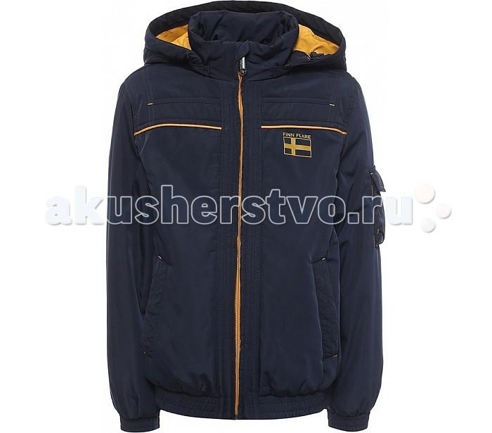 Finn Flare Kids Куртка для мальчика KB17-81009Куртка для мальчика KB17-81009Finn Flare Kids Куртка для мальчика KB17-81009  Куртка для мальчика из плащевой ткани, карманы прорезные, застежка молния.  Состав:  - Основной материал: 100% полиэстер - Подкладка: 100% полиэстер - Утеплитель: 100% полиэстер  Уход: Машинная стирка в щадящем режиме при максимальной температуре 30°C.  Финский бренд Finn Flare предлагает широкий ассортимент качественной продукции. Модные брендовые вещи являются уникальным предложением для тех, кто предпочитает комфорт и обладает хорошим вкусом. Финская компания уже более полувека создает оригинальные и стильные линейки одежды, обуви и аксессуаров.<br>
