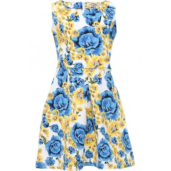 Finn Flare Kids Платье KS17-71006Платье KS17-71006Finn Flare Kids Платье KS17-71006  В гардеробе юной леди неизменной составляющей является платье. Платье для девочки Finn Flare Kids идеально подойдет вашей маленькой принцессе. Изготовленное из хлопкового материала, оно необычайно мягкое и приятное на ощупь, не сковывает движения малышки и позволяет коже дышать, не раздражает даже самую нежную и чувствительную кожу ребенка, обеспечивая ему наибольший комфорт. Платье для девочки прилегающего покроя расширенного к низу, с цветочным принтом. В таком платье ваша маленькая принцесса будет чувствовать себя комфортно, уютно и всегда будет в центре внимания!  - Фактура материала: Текстильный - Вид застежки: Молния - Длина рукава: Без рукавов - Тип карманов: Без карманов  Состав: 97% хлопок, 3% эластан  Уход: Машинная стирка в щадящем режиме при максимальной температуре 30°C.  Финский бренд Finn Flare предлагает широкий ассортимент качественной продукции. Модные брендовые вещи являются уникальным предложением для тех, кто предпочитает комфорт и обладает хорошим вкусом. Финская компания уже более полувека создает оригинальные и стильные линейки одежды, обуви и аксессуаров.<br>