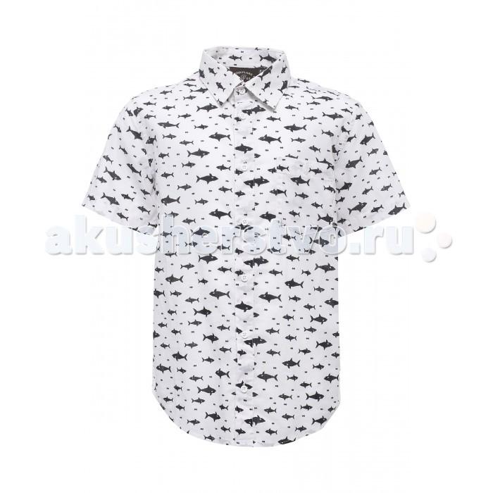Детская одежда , Блузки и рубашки Finn Flare Kids Рубашка для мальчика KS17-81003 арт: 304374 -  Блузки и рубашки