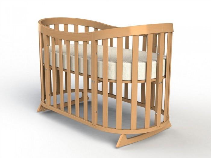 Купить Кроватки-трансформеры, Кроватка-трансформер Fiorellino Cloud овальная 2 в 1