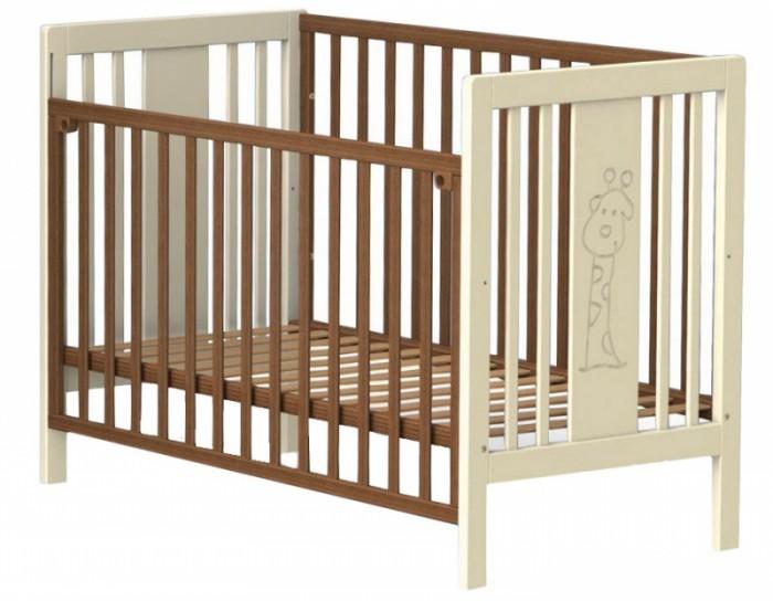 Детска кроватка Fiorellino GiraffeGiraffeДетска кроватка Fiorellino Giraffe производитс из качественных и надёжных материалов, которые гарантирут практичность и долговечность использовани. Каркас кроваток выполнен целиком из массива альпийского бука – он прекрасно подходит дл детской мебели.  Особенности: удобна и современна детска кроватка;  оригинальный дизайн – кроватка декорирована резным рисунком в виде забавного жирафа;   материал: натуральный бук;  бортик опускаетс или полность снимаетс;  ложе регулируетс по высоте: 2 позиции;  нетоксичные лаки и краски;  в комплект входт колёсики.<br>